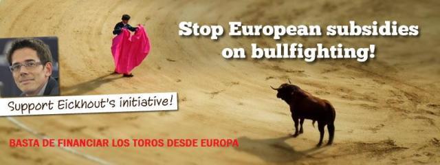 Paremos las corridas de toros!!!